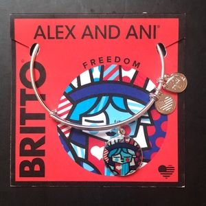 Alex and Ani Romero Britto Freedom